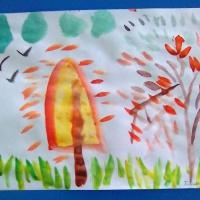 Фотоотчет о детском творчестве «Осенняя палитра сентября»