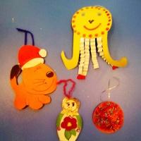 Фотоотчет о совместном творчестве детей и родителей «Мы украсим ёлочку в праздничный наряд!»