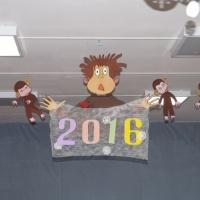Новогоднее тематическое украшение группы!