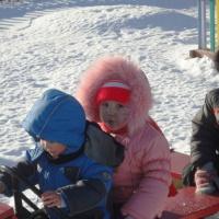 Наблюдения на прогулке декабрь-январь с детьми младшего возраста