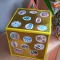 Дидактические пособия по познавательному развитию: куб «Времена года», пирамида «Животные», пирамида «Птицы»