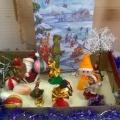 Сенсорная коробка в кабинете учителя-логопеда «Зимушка-зима, чудесная пора»