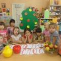 Сценарий праздника «Яблочный Спас» (подготовительная группа)