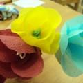 Мастер-класс по изготовлению цветов из салфеток