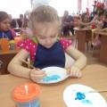 Конспект занятия по художественно-эстетическому развитию «Роспись гжельской тарелки»