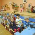 Сюжетно-ролевая игра «Голубой автобус» для детей второй младшей группы