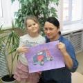 Участие в международном конкурсе детского рисунка «Машина будущего»