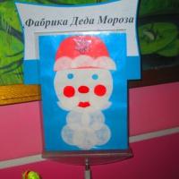 Фотоотчет совместного творчества воспитанников и родителей ДОУ «Фабрика Деда Мороза»