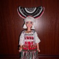 «Тейтерь— Лейне» (Девушка— Река) в современном мордовском (эрзянском) костюме