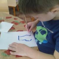 Конспект интегрированного занятия по рисованию в средней группе «Цветы в вазе»