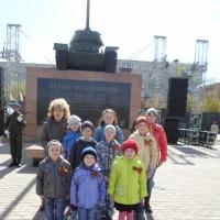 Фотоотчет, посвященный празднованию Дня Победы