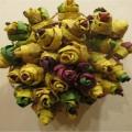 Мастер-класс: розы из листьев «Осенняя фантазия»