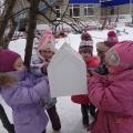 Проект «Поможем птицам зимой» в подготовительной к школе группе.
