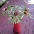 Букет ромашек (мастер-класс поделки из пластилина, природного и бросового материала)