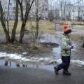 Весенняя прогулка: наблюдение за капелью (подготовительная группа)