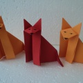 Лисичка в технике оригами (мастер-класс).