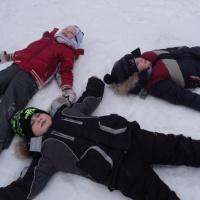 Зимние прогулки «Наблюдение за снегом»