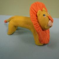 Мастер-класс по изготовлению поделки из пластилина «Лев»