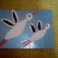 Мастер-класс «Птицы летят» (аппликация методом обрывания бумаги)