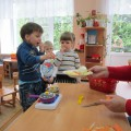 Конспект образовательной деятельности с детьми первой младшей группы «Приготовим овощной суп»
