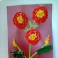 Мастер-класс «Цветы из ватных палочек»