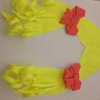 Мастер-класс для воспитателей «Бант в технике оригами»