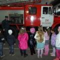 Экскурсия в пожарную часть нашего города