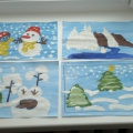 Фотоотчет «Зимнее творчество детей»