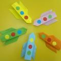 Мастер-класс в технике оригами «Ракета»