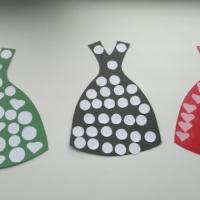 Художественно-эстетическое развитие «Платье для мамы»