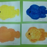 Художественно-эстетическое развитие. Рисование «Рыбы» в средне-старшей группе