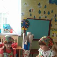 Дежурство в средней группе детского сада