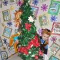 Развлечение для детей младшей разновозрастной группы «По следам новогодней ёлки»
