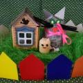 Поделка из футляров от киндер яиц «Кошка и мышка». Мастер-класс