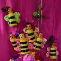«Пчёлки». Поделка из одноразовых стаканчиков. Мастер-класс