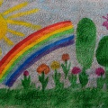 «Весёлое солнышко». Конспект НОД с детьми младшей разновозрастной группы