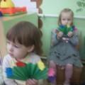 Мастер-класс «Полянка с тюльпанами для мамы»