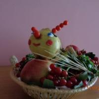 «Дары осени». Фотогалерея выставки поделок из природных материалов и овощей