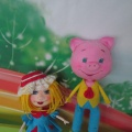 Мастер-класс «Куклы для кукольного театра из фоамирана»