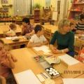 Мастер-класс по нетрадиционному рисованию «Краски Осени» для родителей с детьми (младшая группа)