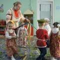 Творческий отчет по физкультуре в детском саду «Дорога в волшебный мир русских игр»