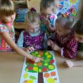 Фотоотчёт о НОД по аппликации «Осеннее чудо-дерево». Коллективное творчество детей