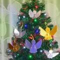 Мастер-класс «Милые ангелы»— ёлочные украшения