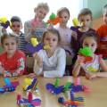 Детский мастер-класс «Десять птичек— стайка». Художественное творчество детей