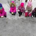 НОД «Опыты со снегом». Исследовательская деятельность детей на прогулке