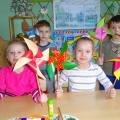 Детский мастер-класс «Игрушка-забава. Подарок малышам»