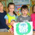 Детский мастер-класс по аппликации «Открытка «Голубь мира»