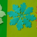 Мастер-класс по аппликации «Осенние листья»