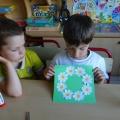 Детский мастер-класс по аппликации «Венок из ромашек»