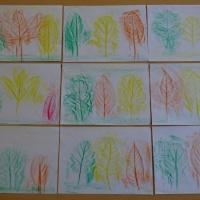 «Осенние листья». Детский мастер-класс в технике «фроттаж»